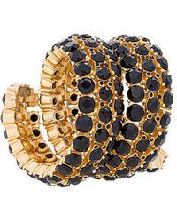 Oscar de la Renta - Gemstone Cuff Bracelet - Lyst