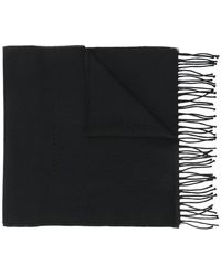 Givenchy | Knitted Tassel Scarf | Lyst