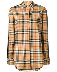Burberry - Vintage Check Stripe Shirt - Lyst