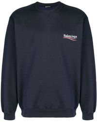 Balenciaga - Толстовка С Логотипом - Lyst