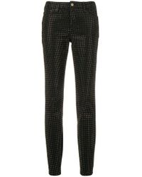 Versace - Studded Skinny Jeans - Lyst