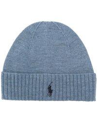 Ralph Lauren - Logo Embroidered Hat - Lyst
