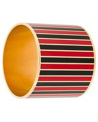 Givenchy - Striped Cuff Bangle - Lyst