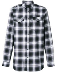 Diesel Black Gold - Checked Classic Shirt - Lyst