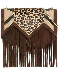 Just Cavalli - Fringed Crossbody Bag - Lyst