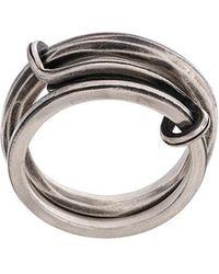 Werkstatt:münchen - Double Band Ring - Lyst