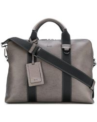 BOSS - Textured Document Case With Webbing - Lyst