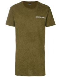 NEWAMS - Langes T-Shirt - Lyst