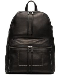 Rick Owens - Black Large Leather Backpack - Lyst