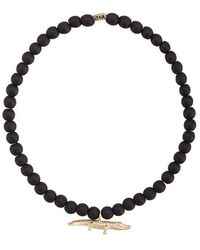Luis Morais - Medium Croc Spacer Bracelet - Lyst