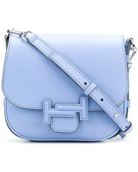 Tod's | Double T Saddle Bag | Lyst