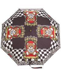 Moschino - Teddybear Print Umbrella - Lyst