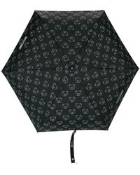 Moschino - A Bear And Logo Print Umbrella - Lyst