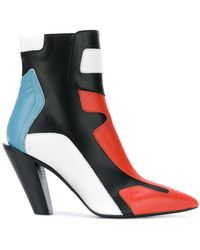 A.F.Vandevorst - Colour Block Ankle Boots - Lyst