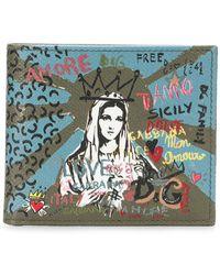 Dolce & Gabbana - Madonna Print Wallet - Lyst