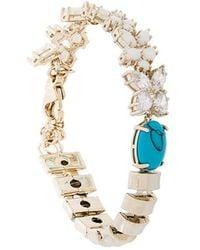 Iosselliani - Elegua Turquoise Bracelet - Lyst