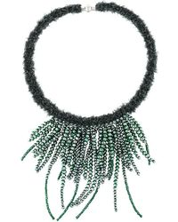 Fabiana Filippi - Multi String Beaded Necklace - Lyst