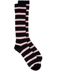 Sonia Rykiel - The Webster X The Ritz Striped Socks - Lyst