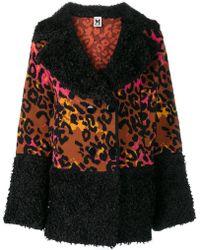 M Missoni - Leopard Cardigan - Lyst