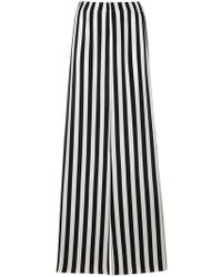 FEDERICA TOSI - Striped Wide-leg Trousers - Lyst