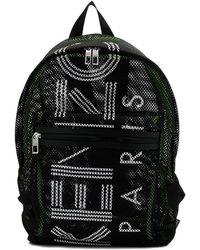 KENZO - Logo-printed Transparent Backpack - Lyst