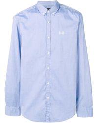 BOSS - Button Down Collar Shirt - Lyst