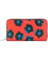 PS by Paul Smith - Floral Zip Wallet - Lyst