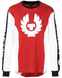 Belstaff - Bratton Long Sleeve Logo T-shirt - Lyst