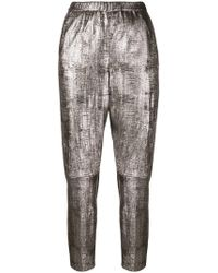 DROMe - Cropped Trousers - Lyst