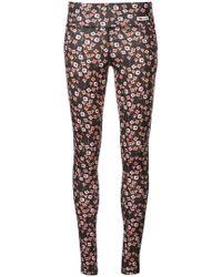 Giamba - Floral Print leggings - Lyst