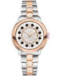 Fendi - Watch With Topaz Detail - Lyst
