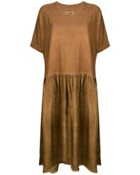Uma Wang - Flared T-shirt Dress - Lyst