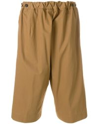 Jil Sander - Loose Fit Bermuda Shorts - Lyst