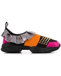 Emilio Pucci - City One Ruffle Trainers - Lyst