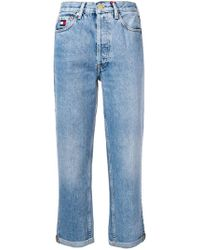 Tommy Hilfiger - Cropped Jeans - Lyst