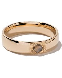 De Beers - 18kt Yellow Gold Talisman Diamond 5mm Band - Lyst