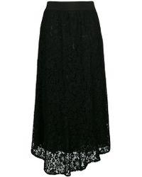 Blugirl Blumarine - Long Lace Skirt - Lyst