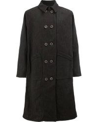 Individual Sentiments - Double-breasted Coat - Lyst
