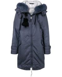 Peuterey - Zipped Padded Coat - Lyst