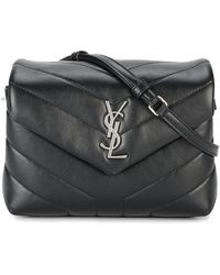 Saint Laurent - Bag Toy Loulou Monogram Leather Shoulder Bag - Lyst