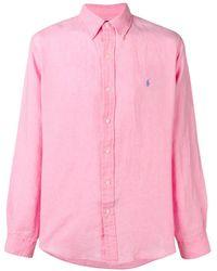 Ralph Lauren Chemise à logo brodé