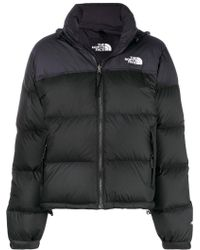 The North Face - Cropped Padded Jacket - Lyst