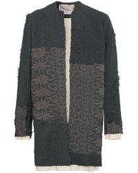 By Walid - Alex Floral Crochet Coat - Lyst