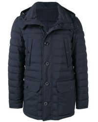 69c2ac4a9 Lyst - Moncler Arles Padded Jacket in Blue for Men