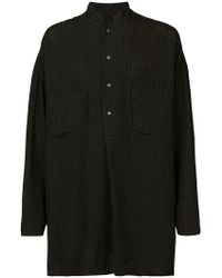 Forme D'expression - Embroidered Pullover Shirt - Lyst