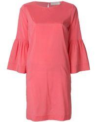 L'Autre Chose - Short 3/4 Sleeve Dress - Lyst