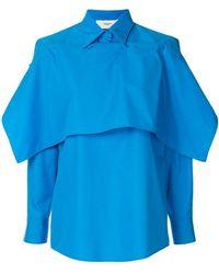 Ports 1961 - Layered Button-down Shirt - Lyst