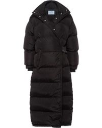 Prada - Oversized Padded Coat - Lyst