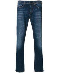 Neil Barrett - Faded Front Jeans - Lyst