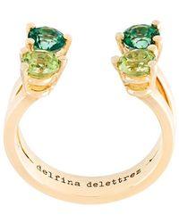 Delfina Delettrez - 'dots' Phalanx Midi Ring - Lyst